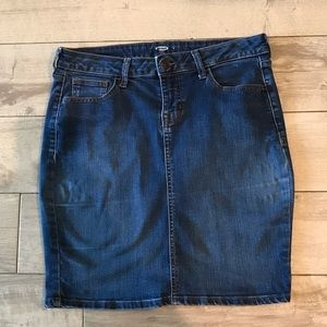 Jean Skirt Old Navy
